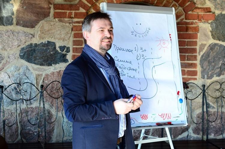 Леди Босс — 2015:знакомство участниц и выездной тренинг с Александром Бельцером в Маёнтке Cула